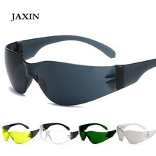 JAXIN Personality Sandproof Sunglasses Men Outdoor Women Shockproof Driving Integrated Eyewear okulary UV400 oculos