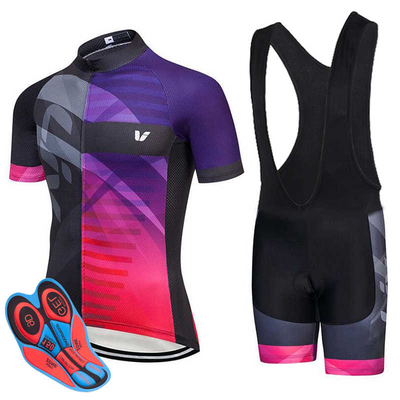 fc075fe93 new liv Summer Short Sleeve Cycling Jerseys Set MTB Bike Clothing Quick-Dry  Racing Bicycle