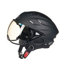 Летом мотоциклетный шлем Электрический велосипед шлем Vintage Скутер половина шлем Moto каско Мужчин/женщин E-bike capacete