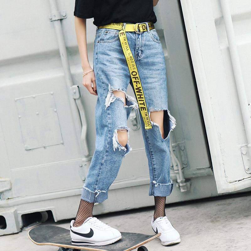 Online Get Cheap Womens Boyfriend Jeans Sale -Aliexpress.com ...