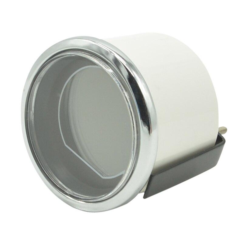 Naga gauge Putih Shell Lensa Asap 52mm Auto Mobil Turbin Minyak - Suku cadang mobil - Foto 6