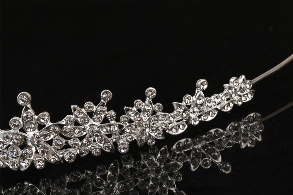 3 Designs Fashion Crystal Wedding Bridal Tiara Crown For Women Prom Diadem Hair Ornaments Wedding Bride hair Jewelry accessories 3