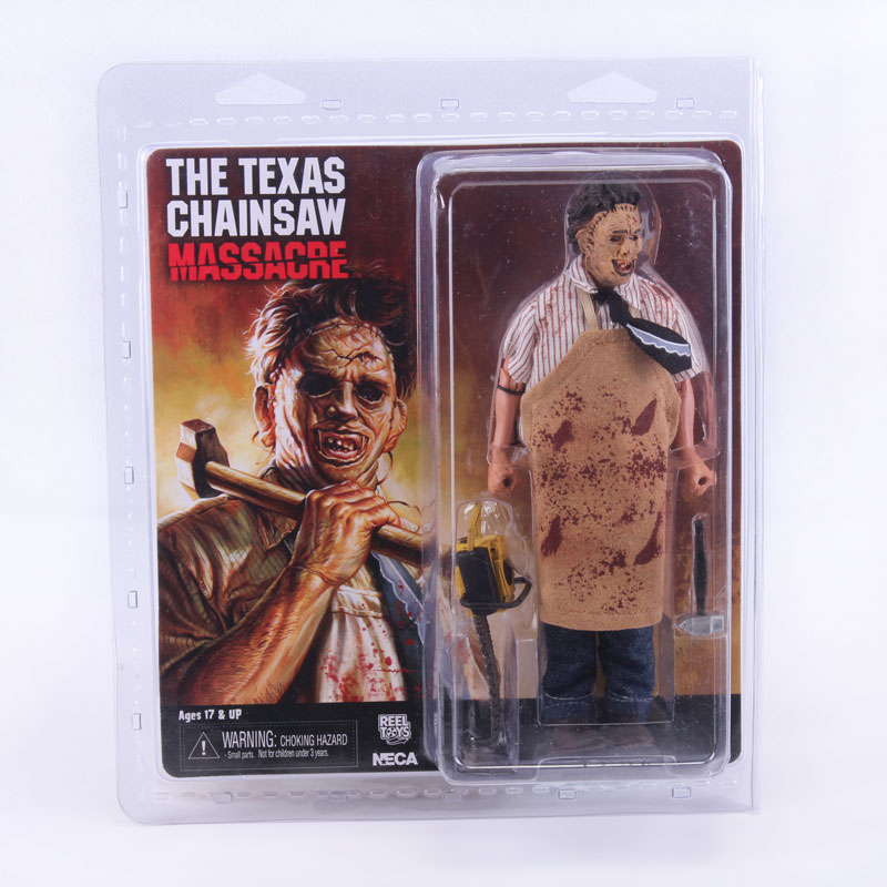 ФОТО NECA Texas Chainsaw Massacre Leatherface Clothed PVC Action Figure Collectible Toy 8
