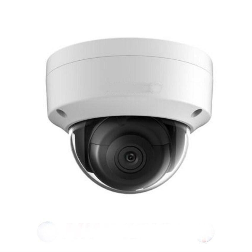 Original 8MP POE IP caméra DS-2CD2185FWD-I DS-2CD2185FWD-IS extérieur 8 mégapixels réseau dôme sécurité CCTV caméra SD carte 30m IR