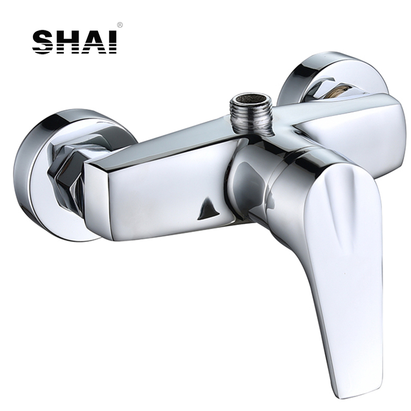 SHAI Bathroom Shower Faucets Without The Shower Head Water Mixer Cold And Hot Water Tap Brass Body High Quality Shower Mixer Tap