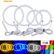 Feeldo, 1 conjunto de luzes de algodão, auto halo, smd, olhos de anjo led para volkswagen golf 4 drl, 4 cores # am3773