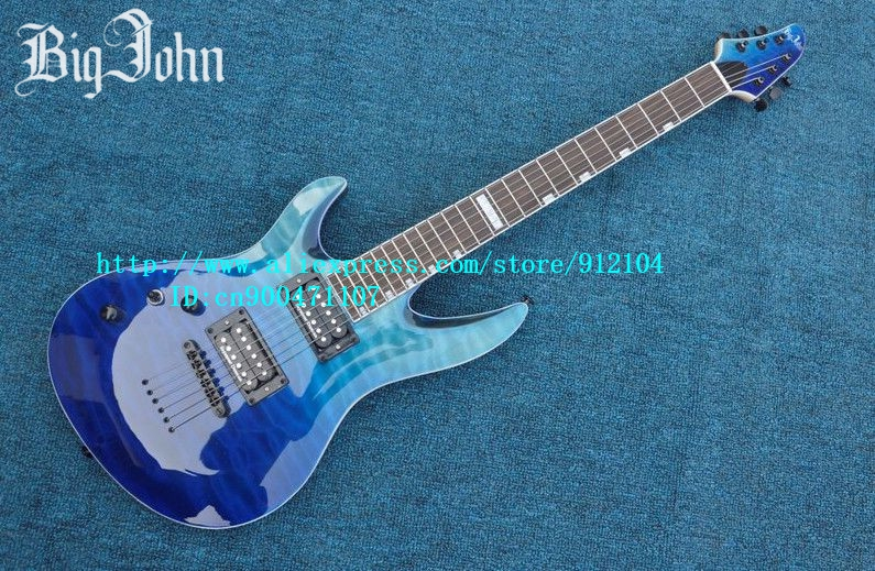 free shipping new left hand single wave electric guitar in blue made in China +foam box JT-19 vegas left hand natural color acoustic electric guitar free bag free shipping