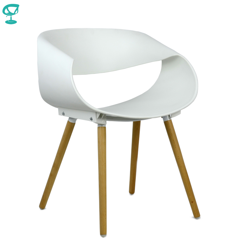 94980 Barneo N-222 Plastic Kitchen Interior Stool Chair For A Street Cafe Chair Kitchen Furniture White Free Shipping In Russia