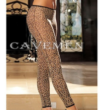 Leopard Socks and pants 2189 sexy T Back G String Brief Underwear Triangle pants Trousers Suit