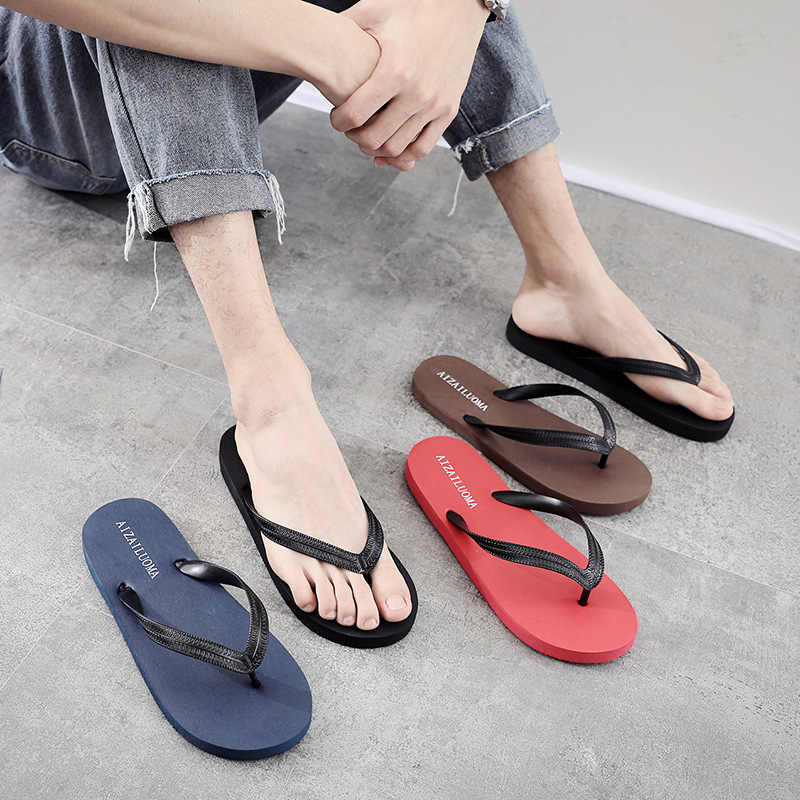 Mixed slippers Men's Summer Korean
