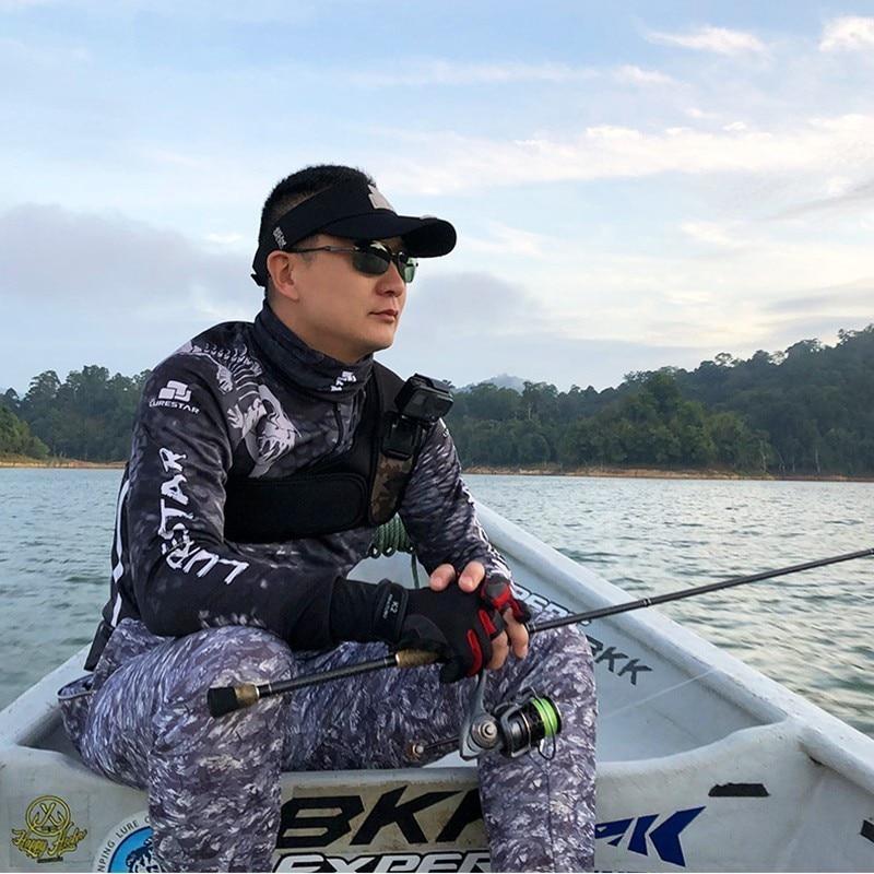 Roupas de pesca profissional ao ar livre