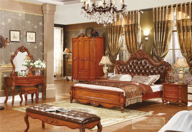 Ordinaire Hot Sale Cheap Price Good Quality Solid Wood King Size Bedroom Set