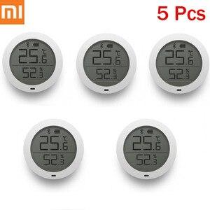 Image 1 - Original Xiaomi Mijia Bluetooth Hygrothermograph High Sensitive LCD Screen Hygrometer Thermometer Sensor Use With Mijia App H30