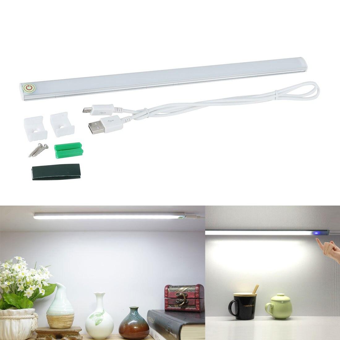 Us 654 26 Offled Touch Sensor Licht Buis Dimbare Usb 21 Leds Bar Lade Kast Garderobe Kast Keuken Slaapkamer Camping Night Lamp Buis In Led Bar
