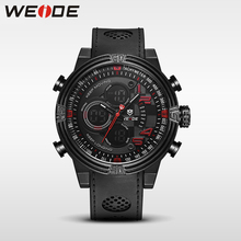 WEIDE Multiple Time Zone Quartz Casual Watch Military Sports Watch Waterproof Back Light Men Watches alarm  business men watches цена