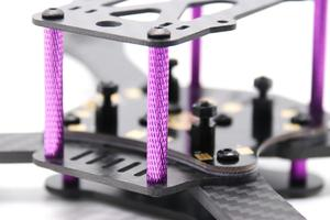 Image 3 - TCMM FPV Frame Kit Martian III X Structure Wheelbase 220mm 4mm Arm Carbon Fiber for RC Multicopter