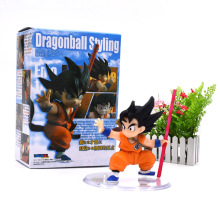 Anime Dragon ball Z Figuarts Son Goku Children Styling Joint Movable PVC Action Figure Collection Model Kids  Doll DIY Toy 7 cm anime play arts kai street fighter iv 4 vol 2 gouki pvc action figure collection model kids toy doll