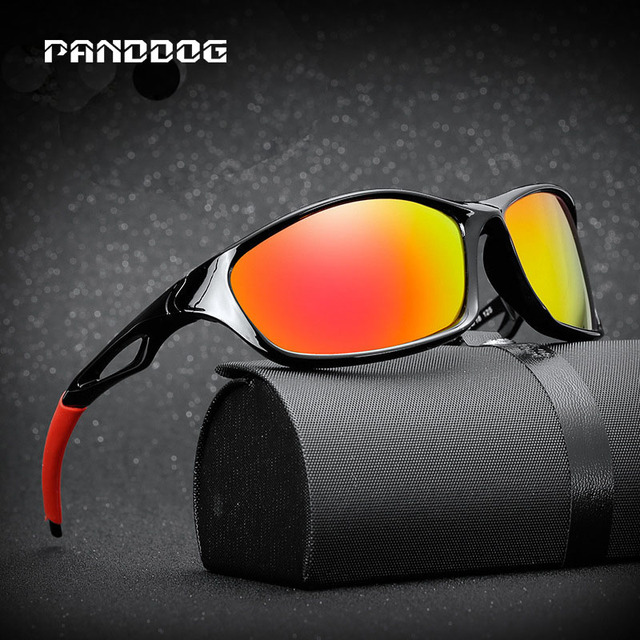 69f4bbbbbf1 PANDDOG 2018 New Sport Sunglasses Men Polarized Women Brand Designer  Driving Big-Framed Polaroid Sun Glasses With Box LHKP1000