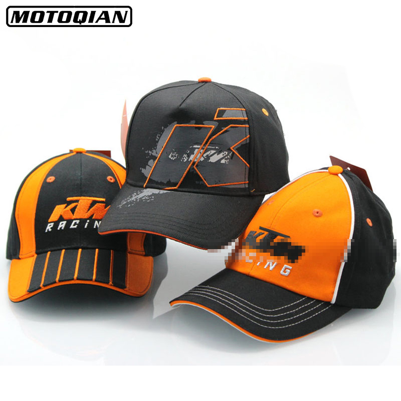 Men Women High Quality Snapback Motorcycle Trucker Hats Motor Racing Cap F1 Moto GP Logo For KTM Baseball Cap Embroidery Hat men baseball caps skull embroidered logo flat top hats cotton snapback flat cap army cadet hat women gorros hombre hip hop