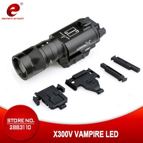elemento airsoft surefir x300v lanterna tatica glock 18c 19 acessorios luz estroboscopica surefir x300 pistola