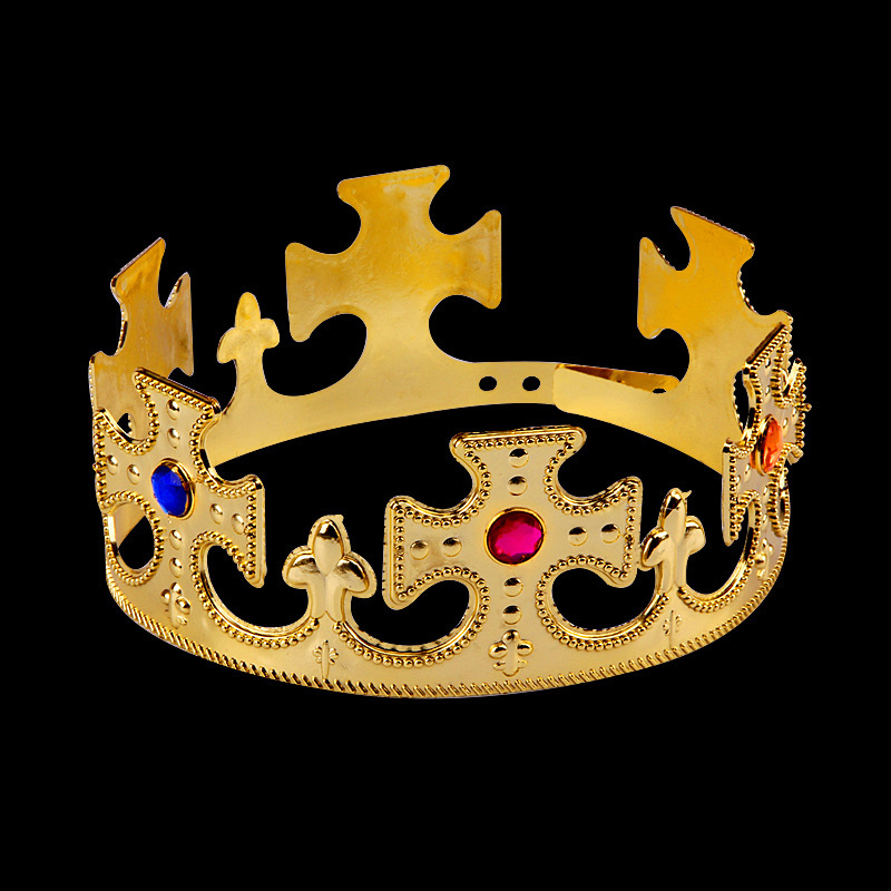gold prince plastic crowns the best plastic 2018