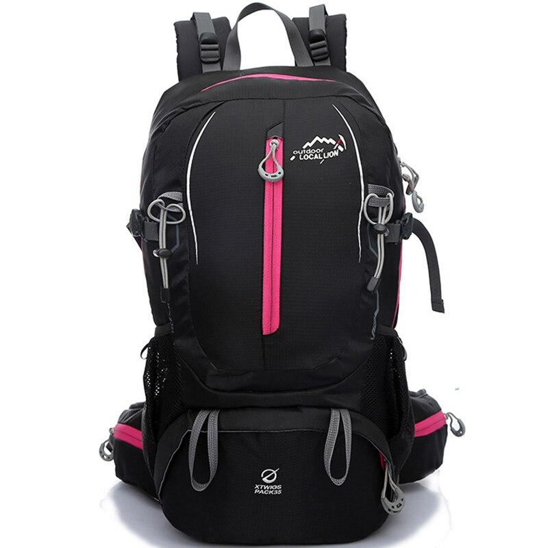 Prix pour Nylon imperméable Sports de Plein Air Sac À Dos Unisexe Alpinisme Escalade Trekking Camping Randonnée Sacs 40L DS02