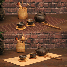 Retro Bamboo Table Mats