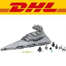 Лепин 1359 шт. Подлинная Новый Звездные Войны Серия Imperial Star Destroyer 75055 Строительные Блоки Кирпичи Образовательные Подарки и Игрушки