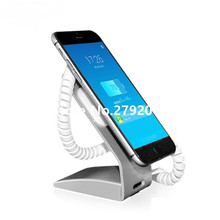 Mobile Phone Holder Charging Security Display Stand for Cell Phone