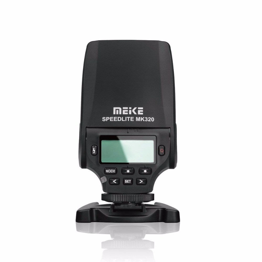 MEKE MEIKE Professional Mini Flash Light MK320 MK-320 TTL Speedlite տաք կոշիկի ֆոտոխցիկ a7 a7ii a7s a7r a3000 a6000 A5000 NEX-7