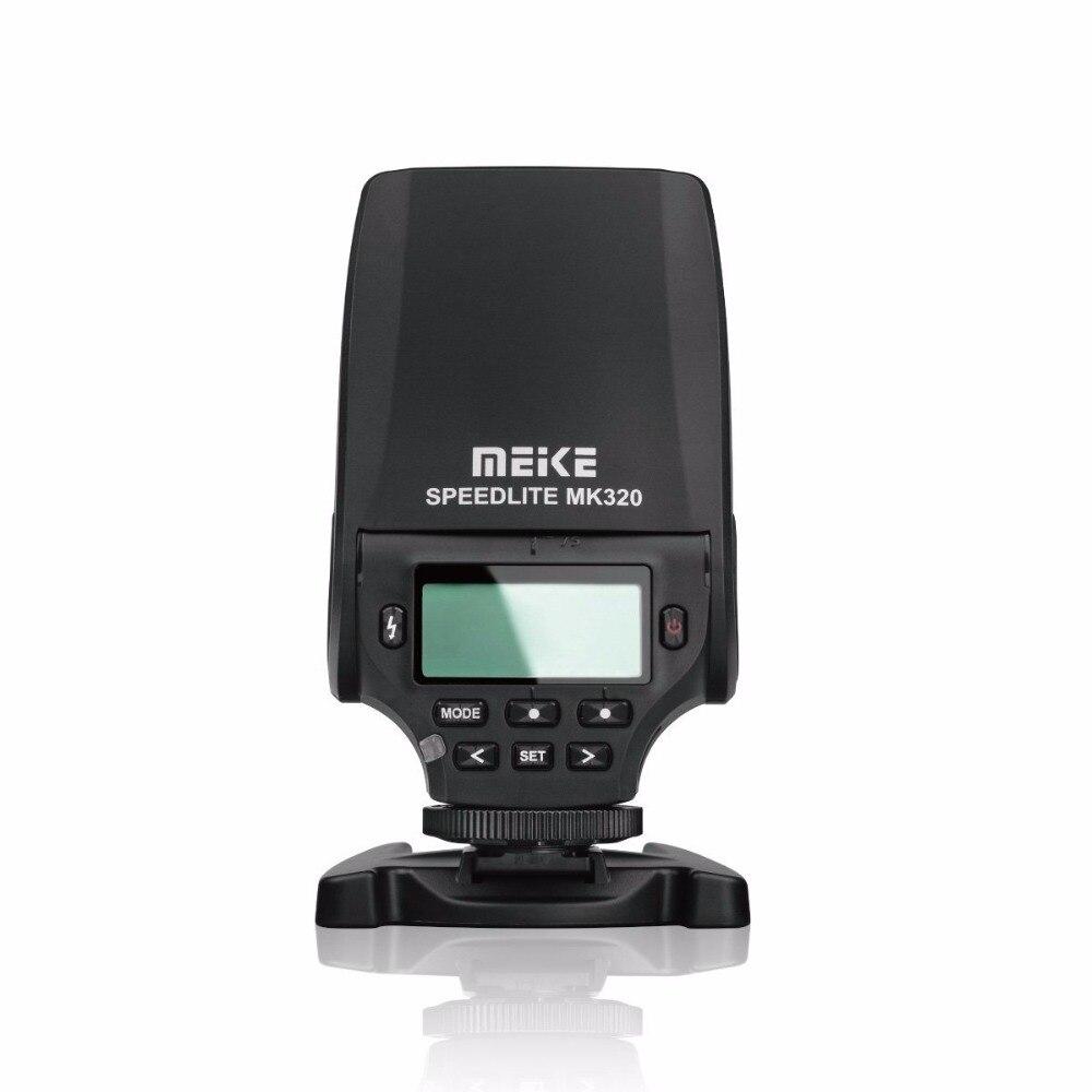 MEKE MEIKE Professionnel Mini Flash Lumière MK320 MK-320 TTL Speedlite hot shoe caméra a7 a7ii a7s a7r a3000 a6000 A5000 NEX-7