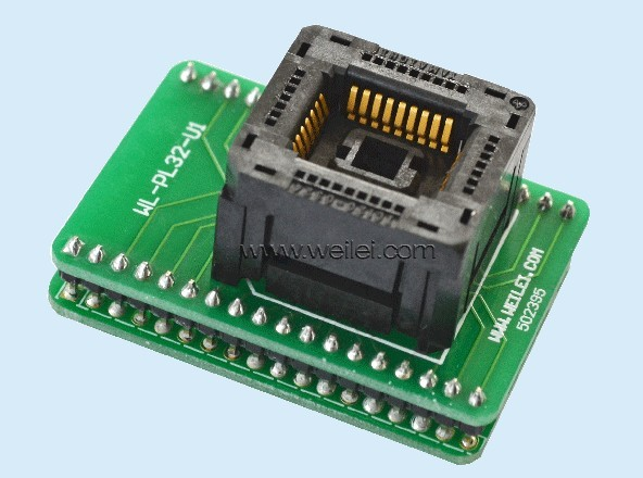 Adapter WL-PL32-P2 burn bridge test programming lqfp80 adapter 78k0 lf2 80gk 038x block test burn convert