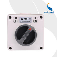 Saipwell Waterproof Rotary Switch IP66 on off Switch Industrial Isolation Switch (SP 56SW332)