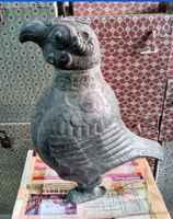 33 cm */recueillir des oiseaux rares d'encensoir de conteneur de cuivre dans la chine antique