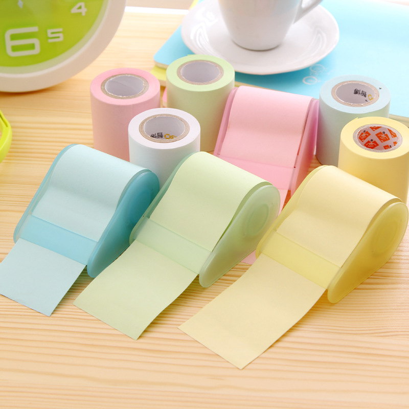 new korea candy notes paper stickers stickers post it notes with tape dispenser dispenser. Black Bedroom Furniture Sets. Home Design Ideas