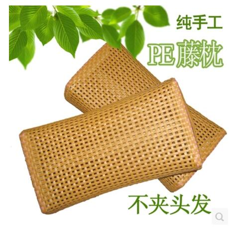Health Eco Flowers Pillow Jasmine Tea Pillow Rattan Cool Pillow Plant Fiber Fabrics Double-sided Pillow