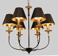 Lampen Der ländlichen modernen Europäischen stil Eisen pendelleuchte Braun esszimmer schlafzimmer Mittelmeer pendelleuchten