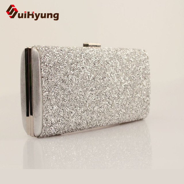 Free Shipping Women Party Evening Bag Day Clutch Fashion Diamond Wedding Clutch Bag Purple Chain Shoulder Crossbody Bag Handabg