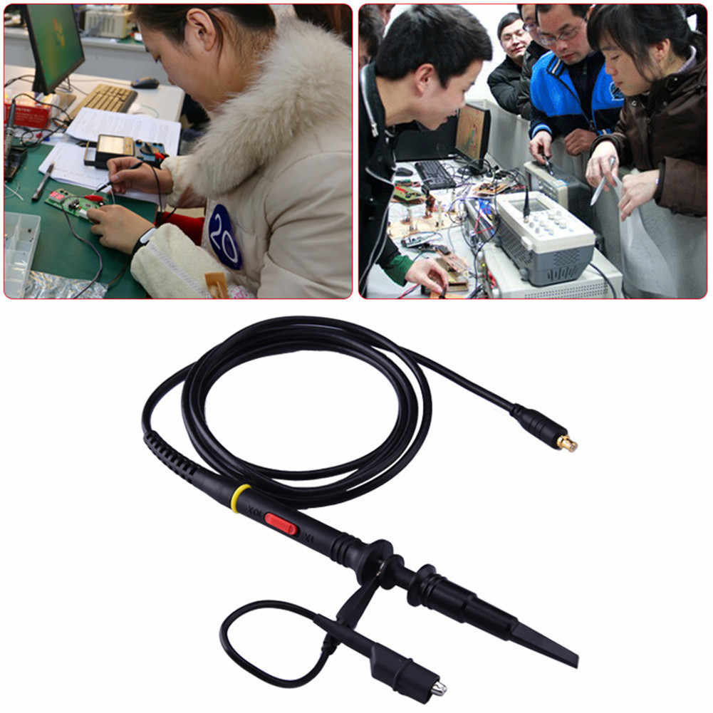 Oscilloscoop Probe Kit 60 mhz 1X 10X Hoogspanning Probe Voor Oscilloscoop DSO201 DS201 DSO203 DS203 DSO202 DS202 VC101