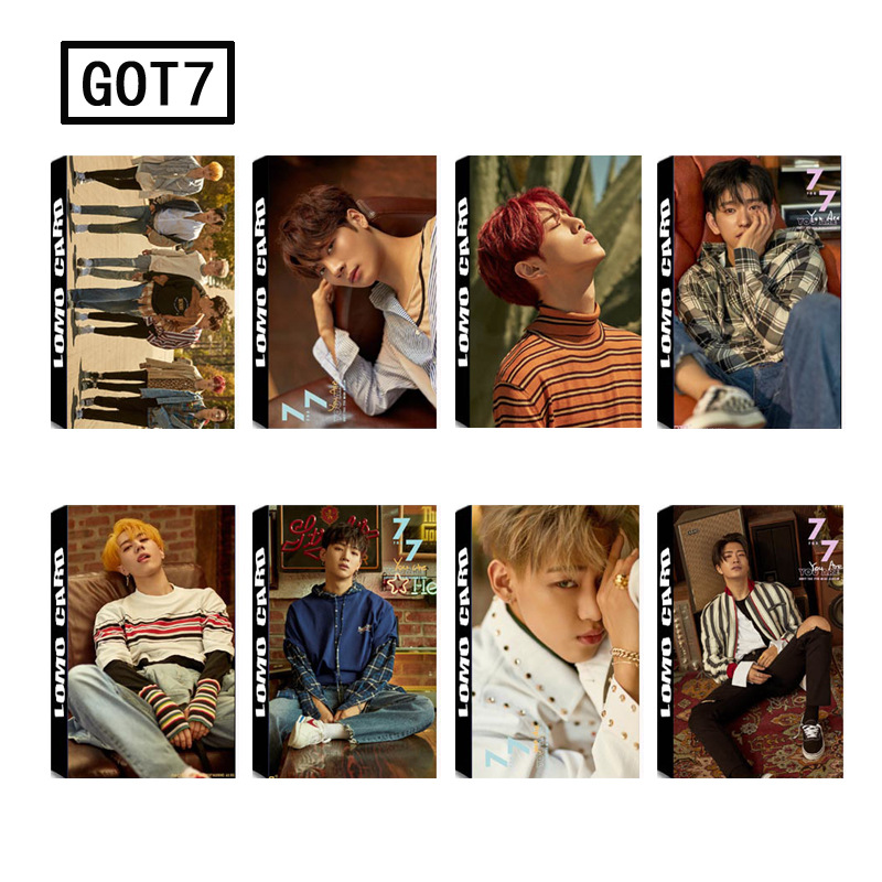 Office & School Supplies School & Educational Supplies Hot 30pcs/set You Pop Got7 Album Lomo Cards New Fashion Self Made Paper Photo Card Stationary Set In Pain
