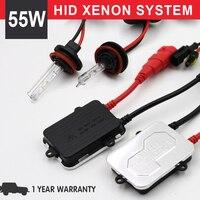1 Set 55w hid xenon kit H1 H3 H7 H11 9005 HB3 9006 HB4 3000K 4300K 6000K 8000K 10000K 12000K HID xenon Auto headlight 12V