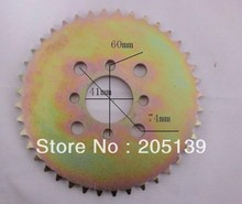 цена на motorcycle parts rear sprocket 40 tooth 420 chain for ATV