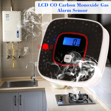 New LCD Display CO Detector Carbon Monoxide Alarm Sensor Poisoning Gas Tester Voice Warning Detector For Alarm System lcd co carbon monoxide smoke detector alarm poisoning gas warning sensor monitor device gv99