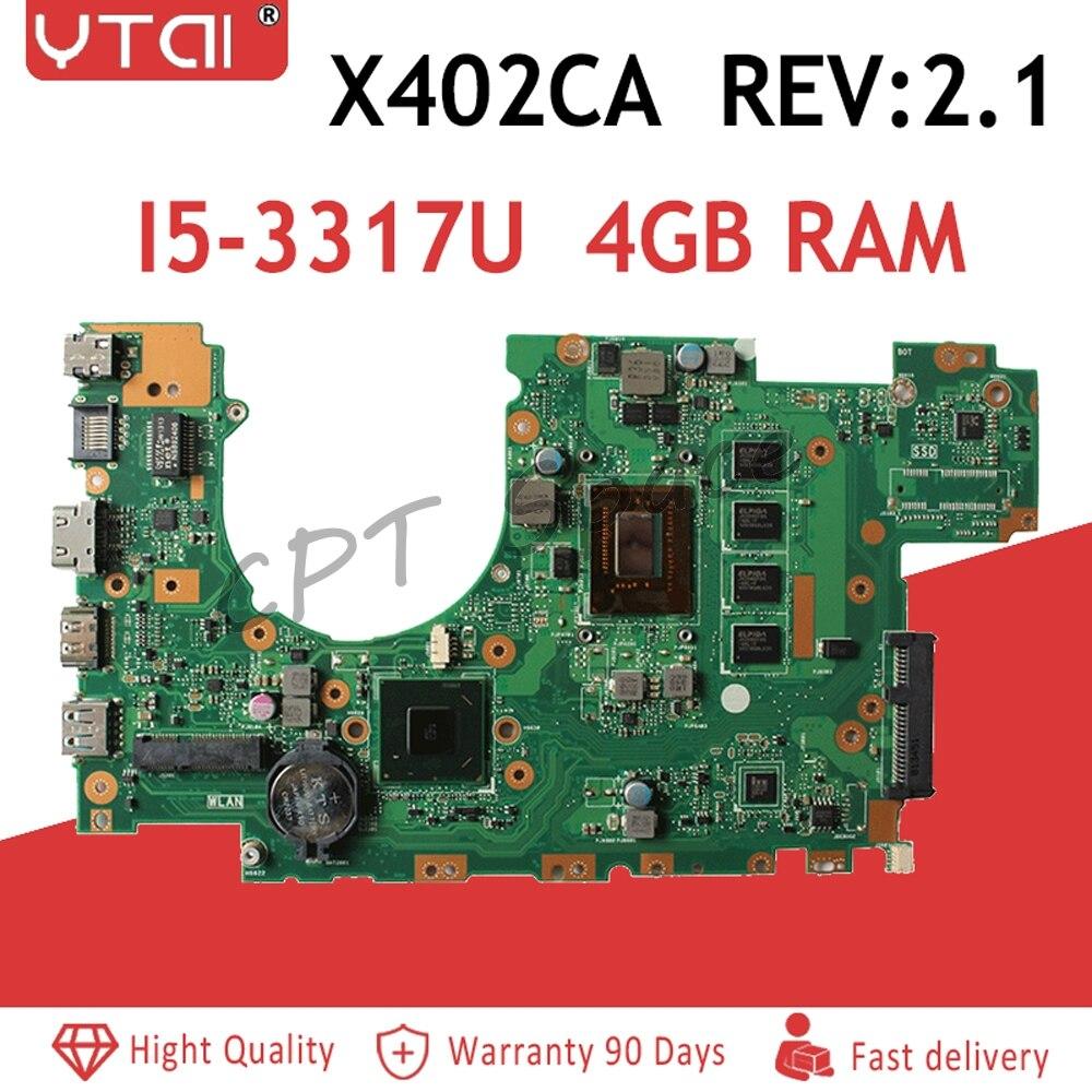 X402CA Motherboard I5-3517U 4GB For ASUS F402C F402CA F502C laptop Motherboard X402CA Mainboard X402CA MotherboardX402CA Motherboard I5-3517U 4GB For ASUS F402C F402CA F502C laptop Motherboard X402CA Mainboard X402CA Motherboard