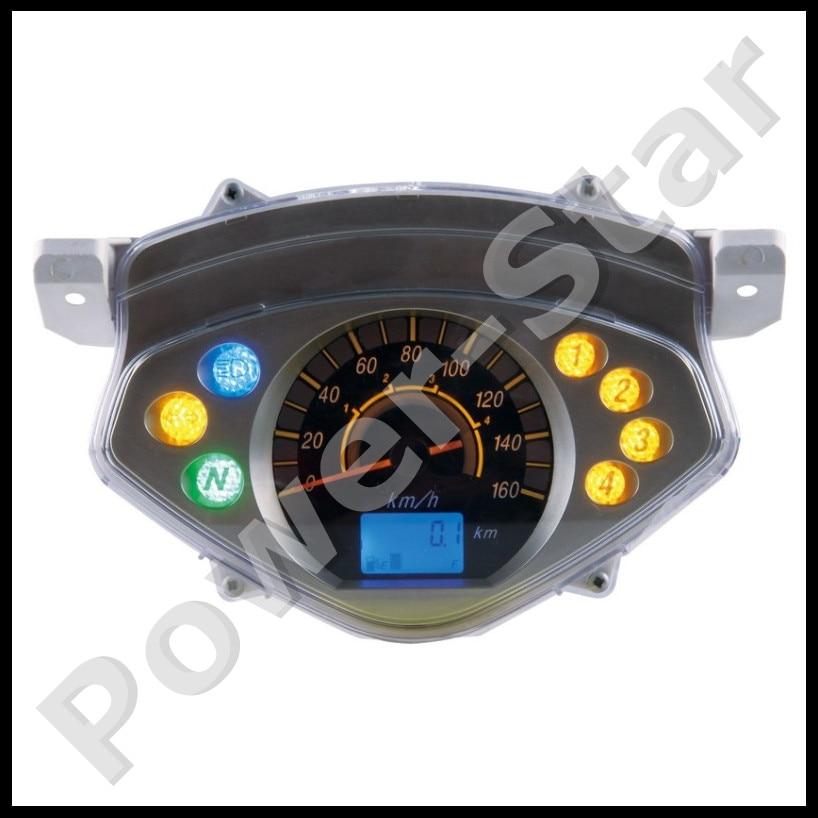 Automobiles & Motorcycles Motorcycle 110cc 125cc 150cc 200cc 250cc Atv Quad Dirt Bike Speedometer Universal High Quality And Inexpensive Atv Parts & Accessories