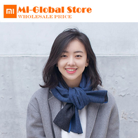 New Arrival xiaomi 90 fun Worsted Pure Wool Double Scarf Men and Women Cotton Scarf comfortable warmth Antistatic Supple Scarf