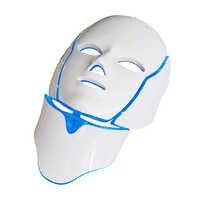 Светодиодная фотонная косметическая маска для лица с омоложением шеи, отбеливающая маска для удаления акне и морщин, спа-машина для ухода з...