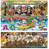 DIY 5D Diamond Painting Cross Stitch Puzzle Mosaic Sewing Cartoon Rhinestone Diamond Embroidery Home Decoration Landscape