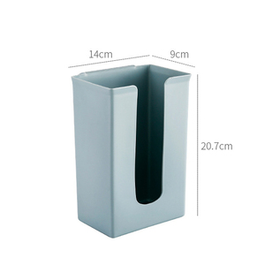 Image 4 - 1PCS Kitchen Organizer Rubbish Bag Storage Holders Racks Home Tissue Towel Hanging Container Products Cabinet Stand Garbage Bags