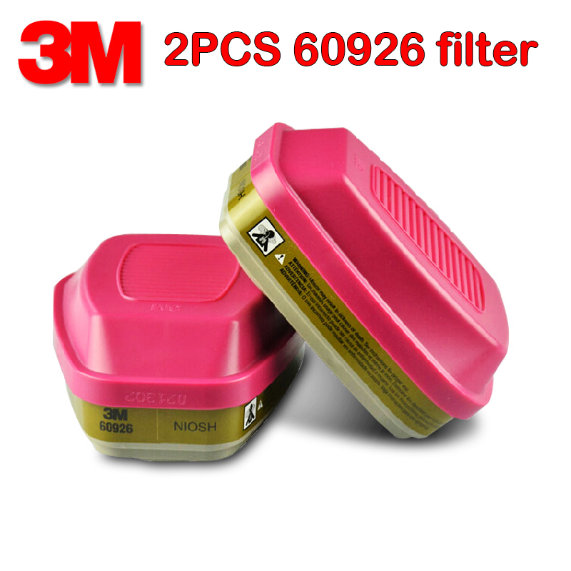 3M 60926 original Organic steam Antivirus filter P100 particulates Protection filter For Chlorine gas Ammonia Integrated filter